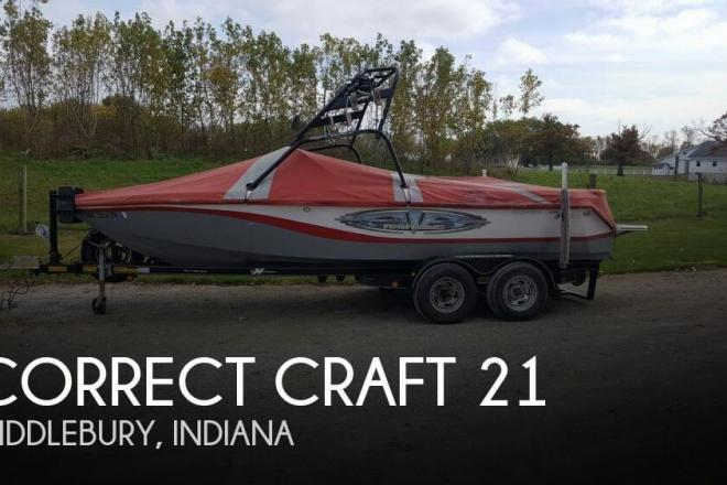 2005 Correct Craft 210 Super Air NAUTIQUE - For Sale at Middlebury, IN 46540 - ID 134372