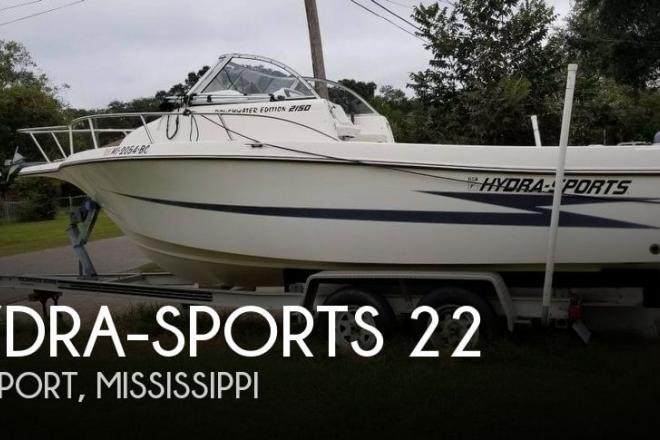 1996 Hydra Sports 2150 Roughwater Edition - For Sale at Gulfport, MS 39501 - ID 134563