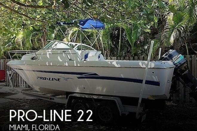 1999 Pro Line 221 Walkaround - For Sale at Miami, FL 33177 - ID 134609