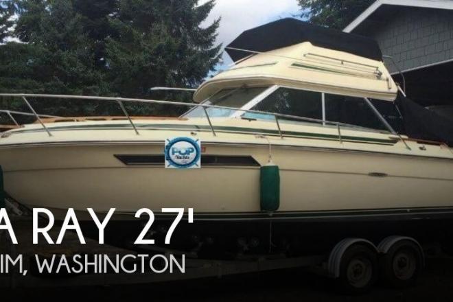 1980 Sea Ray 2780 Sedan Bridge - For Sale at Sequim, WA 98382 - ID 102339