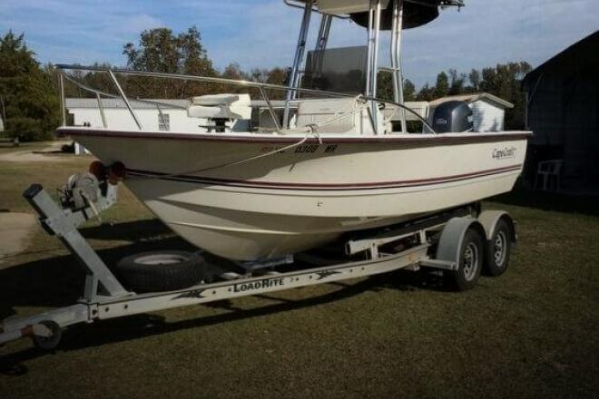 2001 Cape Craft 19cc - For Sale at La Grange, NC 28551 - ID 134281