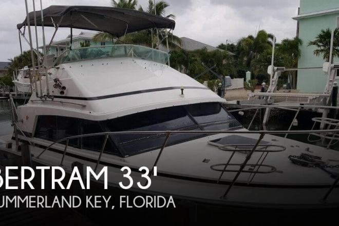 1987 Bertram 33 Sport Fisherman - For Sale at Summerland Key, FL 33042 - ID 110871