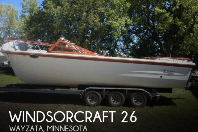 1990 Windsor Craft 26 - For Sale at Watertown, MN 55388 - ID 135215