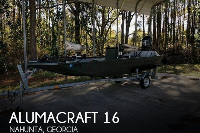 2014 Alumacraft 1650 Cc - For Sale at Nahunta, GA 31553 - ID 135586
