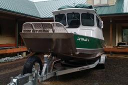 2013 Boulton jet boat drop down loading gate for expedition