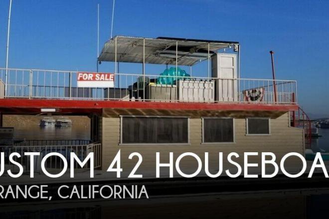 1972 Custom Built 42 Houseboat - For Sale at La Grange, CA 95329 - ID 135442