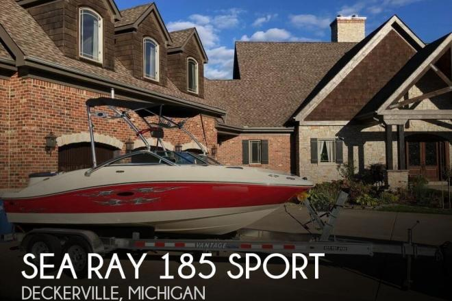 2008 Sea Ray 185 Sport - For Sale at Deckerville, MI 48427 - ID 55767