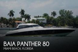 1999 Baia Panther 80