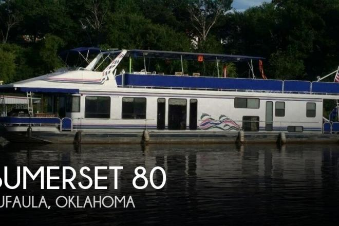 1997 Sumerset Houseboats 80 - For Sale at Eufaula, OK 74432 - ID 135396