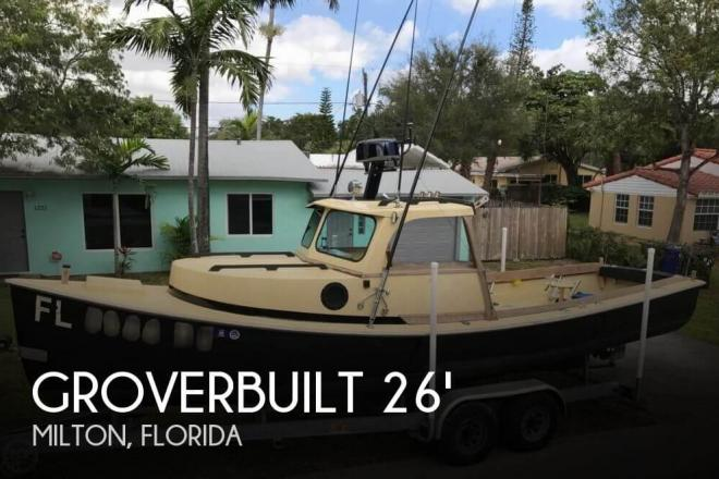 1981 Grover 26 Downeast Pilothouse - For Sale at Milton, FL 32570 - ID 111202