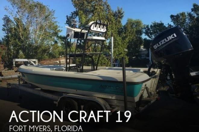 2015 Action Craft 19 Ace Flatsmaster - For Sale at Fort Myers, FL 33965 - ID 136711