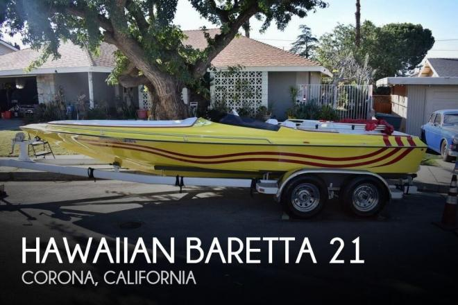 2007 Hawaiian Baretta 21 - For Sale at Corona, CA 92877 - ID 136668