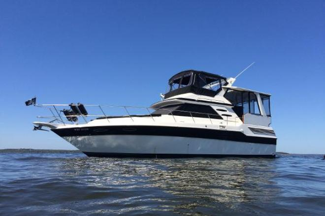1988 Sea Ray 415 Aft  Cabin - For Sale at Denison, TX 75020 - ID 137043