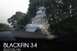 1988 Blackfin 32 Sportfisherman