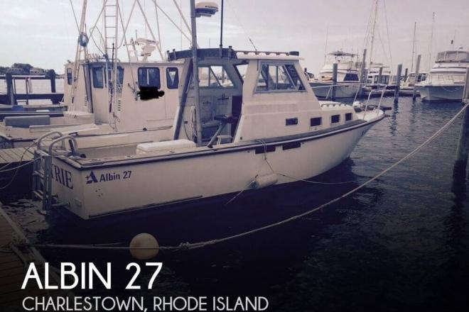 1986 Albin 27 - For Sale at Charlestown, RI 2813 - ID 115440