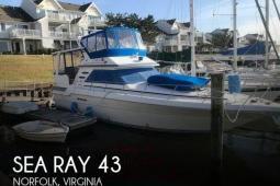 1990 Sea Ray 440 Aft Cabin
