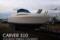 1996 Carver 310 Mid-Cabin Express