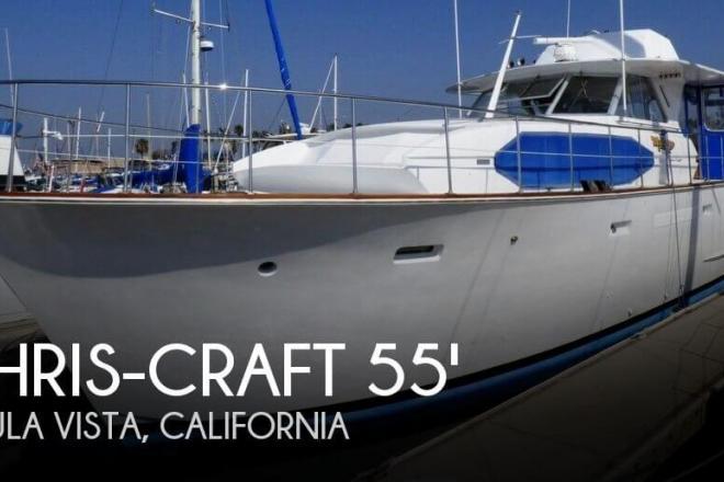 1973 Chris Craft 55 Roamer - For Sale at Chula Vista, CA 91911 - ID 137576