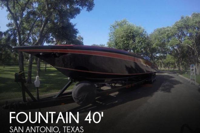 1988 Fountain 12M RENEGADE - For Sale at San Antonio, TX 78201 - ID 98071