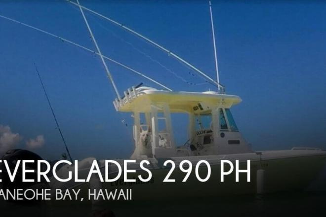 2005 Everglades 290 Pilot - For Sale at Mcbh Kaneohe Bay, HI 96863 - ID 138096