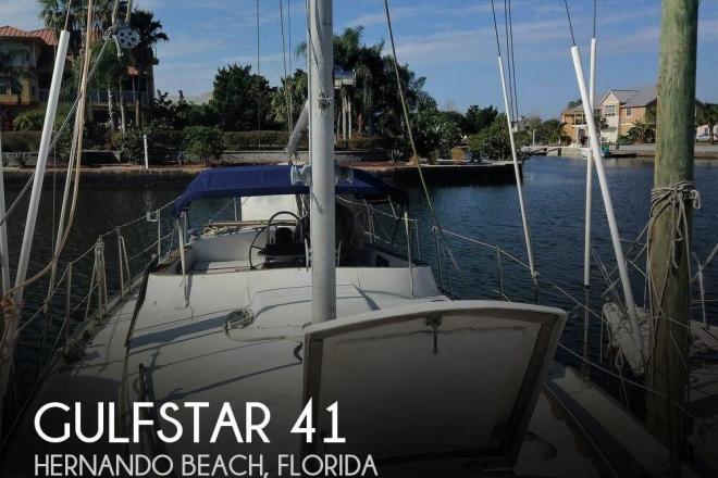 1975 Gulfstar 41 - For Sale at Hernando Beach, FL 34607 - ID 111102
