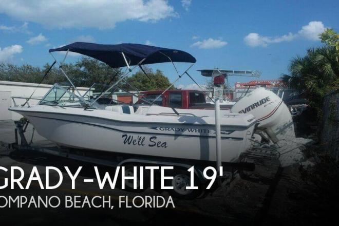 1986 Grady White 190 Freedom 2007 Evinrude 200HP - For Sale at Pompano Beach, FL 33062 - ID 105220