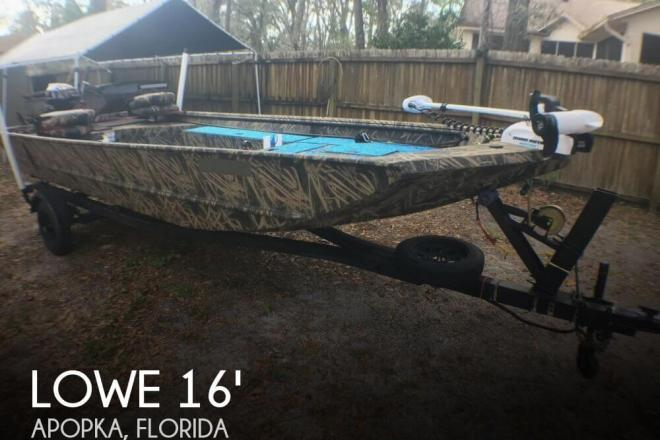 2016 Lowe Roughneck 1650 DT - For Sale at Apopka, FL 32703 - ID 138095