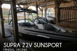 2010 Supra 22V Sunsport