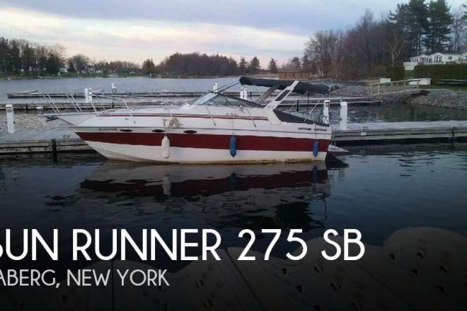 1986 Sun Runner 275 SB - For Sale at Taberg, NY 13471 - ID 137638