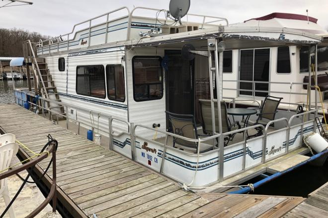 1989 Playcraft Houseboat - For Sale at Warsaw, MO 65355 - ID 94674