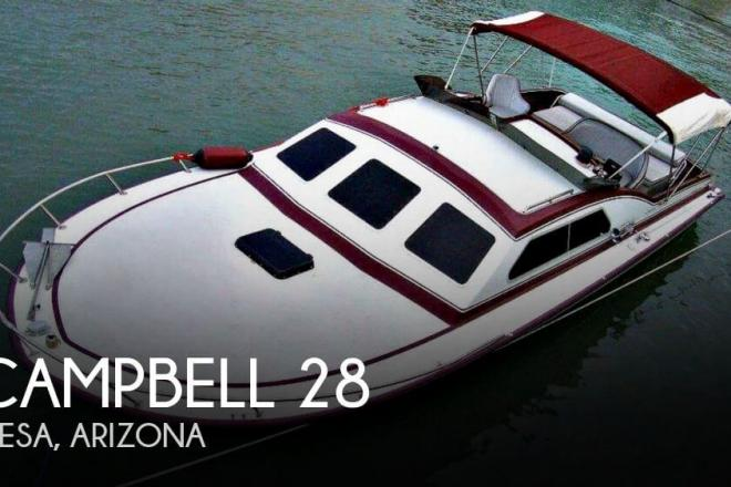 1982 Campbell 28 - For Sale at Mesa, AZ 85201 - ID 139277