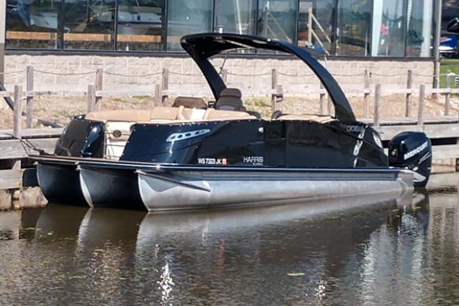 2014 Harris 250CROWNE - For Sale at Pewaukee, WI 53072 - ID 139288
