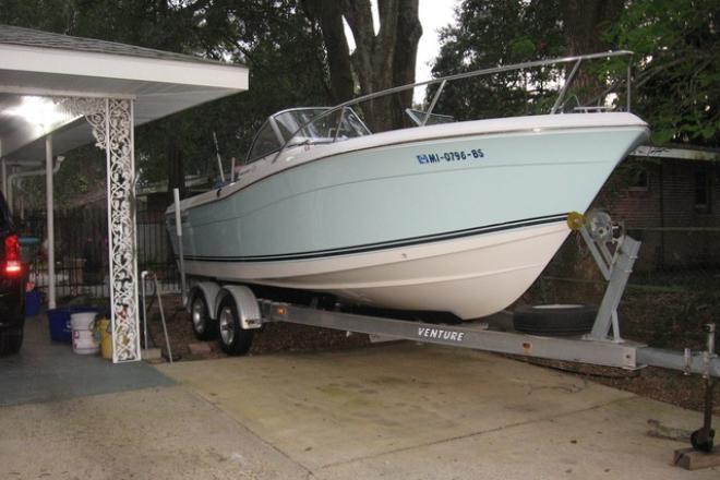 2008 Clearwater 2200 Dual Console - For Sale at Gulfport, MS 39501 - ID 139457