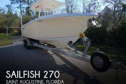 2016 Sailfish 270