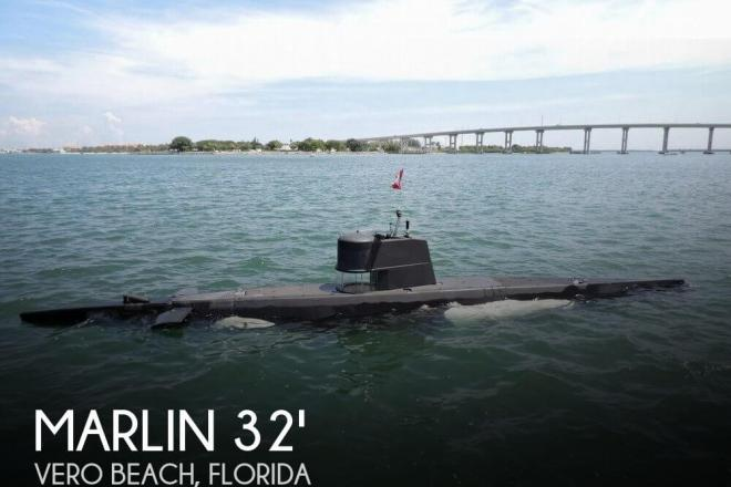 1987 Marlin 32 Diesel Electric S-101 Manned Submarine - For Sale at Vero Beach, FL 32960 - ID 47438