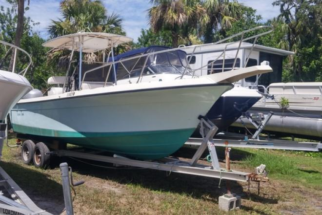 1986 Wellcraft 23 Fisherman - For Sale at Melbourne Bch, FL 32951 - ID 140156