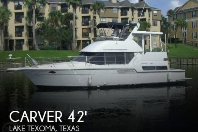 1995 Carver 390 Cockpit Motor Yacht - For Sale at Aubrey, TX 76227 - ID 101477
