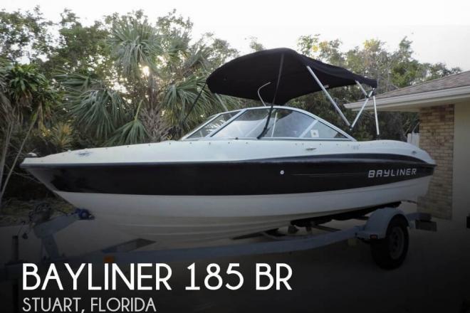 2011 Bayliner 185 BR - For Sale at Stuart, FL 34994 - ID 65152