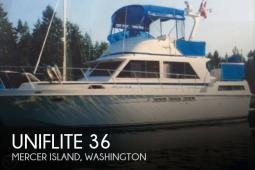 1979 Uniflite 36 Double-Cabin
