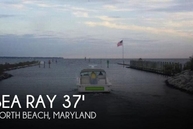 1997 Sea Ray 370 Express Cruiser - For Sale at North Beach, MD 20714 - ID 81047