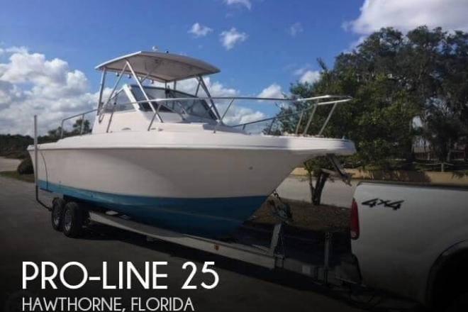 1994 Pro Line 2550 Mid-Cabin - For Sale at Hawthorne, FL 32640 - ID 140714