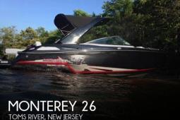 2015 Monterey 268 SS