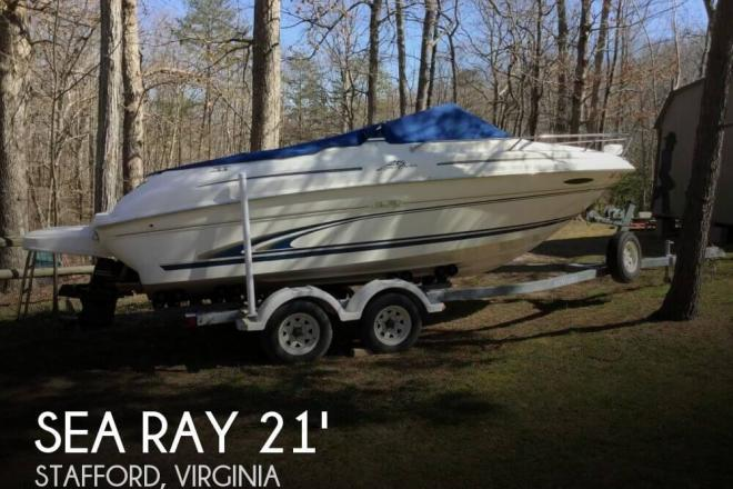 2000 Sea Ray 215 Express Cruiser - For Sale at Stafford, VA 22554 - ID 140071
