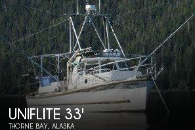 1983 Uniflite 33 Commercial Power Troller - For Sale at Thorne Bay, AK 99919 - ID 140736