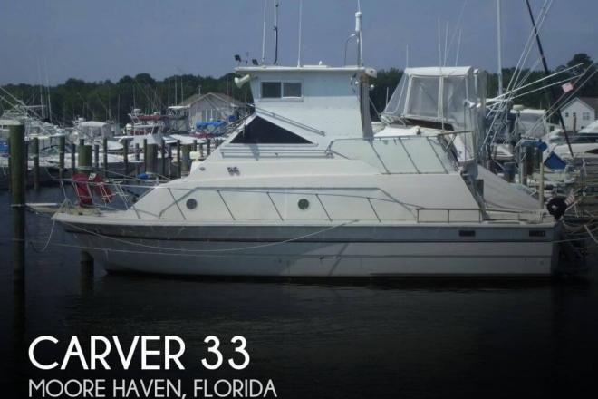1977 Carver 3396 Mariner - For Sale at Moore Haven, FL 33471 - ID 141208