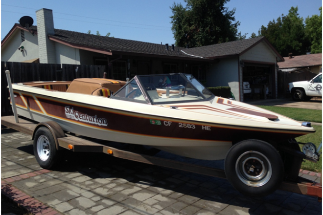 1982 Ski Centurion Tru Trac - For Sale at Gilroy, CA 95020 - ID 141317