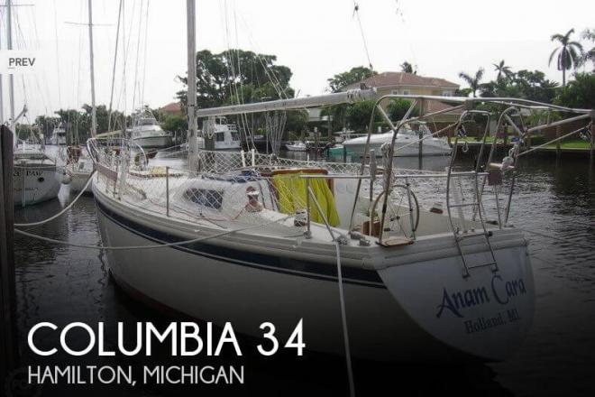 1971 Columbia 34 Mark II - For Sale at Hamilton, MI 49419 - ID 141483