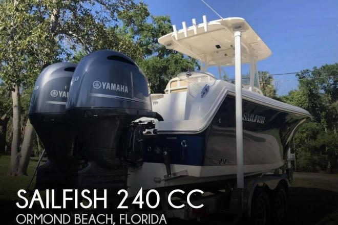 2017 Sailfish 240 CC - For Sale at Ormond Beach, FL 32174 - ID 141088