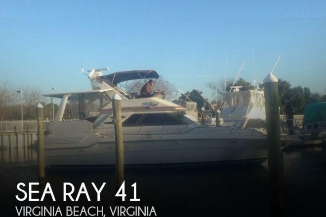 1987 Sea Ray 410 Aft Cabin - For Sale at Virginia Beach, VA 23451 - ID 141806