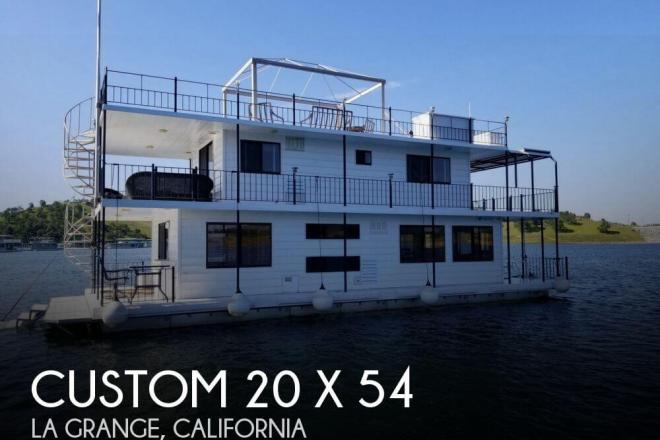 2006 Custom Built 20 x 54 Lake McClure 2-story Houseboat - For Sale at Mariposa, CA 95338 - ID 141359